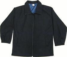 New Ladies Polo Fleece Jacket Womens Jacket with side Pockets Sz-S-XL(16-22)