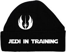 Jedi in Training Baby Beanie Hat/Cap Star Wars Newborn-12Months Black