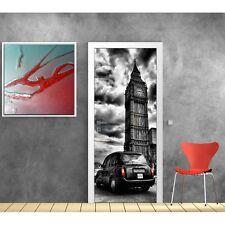 poster poster formato porta decocrazione Taxi Londra 743 Art déco Adesivi