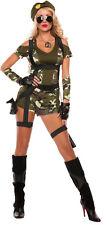 Sexy Starline Green Beret Military Camo 5pc Costume S5143