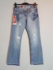 """CROSS Damen Hüft-Jeans """"H-473-005""""  leichter Bootcut  W26-W31  hellblau  NEU"""