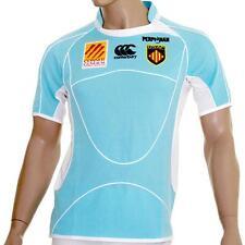 Top 14 France USA Perpignan Rugby Away Jersey