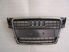 2009-2012 Audi A4 Bumper Grill Grille Gray Chrome Molding OEM 8K0853651