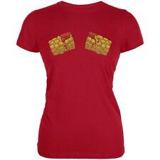 Hot Tots Red Juniors Soft T-Shirt