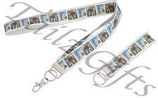 Alaskan Malamute Breed Dog Matching Lanyard   Keyring Key Ring   Bookmark