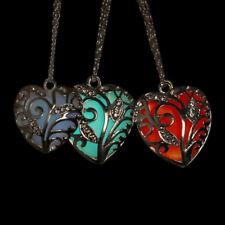 Unique Magical Fairy Glow in the Dark Luminous Locket Necklace Pendant Heart New