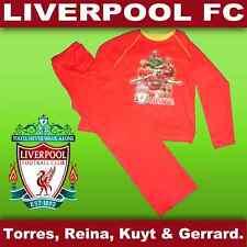 Bnwt Liverpool FC Pigiami GERRARD & Torres 3-10 anni