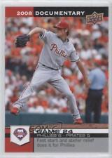 2008 Upper Deck Documentary #804 Cole Hamels Philadelphia Phillies Baseball Card