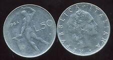 ITALIE    ITALY   50 lire 1964