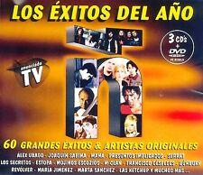 CDx3+DVD BOX - Ñ - LOS ÉXITOS DEL AÑO (2002) VARIOS (PRECINTADO - MINT SEALEAD)