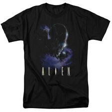 Alien Movie Alien In Space Licensed Adult Shirt S-3XL