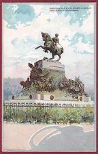 TORINO CITTÀ 295 SAVOIA MONUMENTO AMEDEO DUCA D'AOSTA Cartolina viagg. primi 900