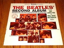 THE BEATLES THE SECOND ALBUM ORANGE LABEL CAPITOL
