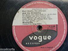 78 rpm EARL BOSTIC moonglow / ain`t misbehavin