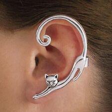 EAR CUFF Helix Cat Bite Ear Ring Fake Clip On Wrap Upper Earings Jewelry NEW