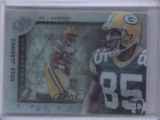 2009 SPx Shadow Box #S-GJ Greg Jennings Green Bay Packers Football Card