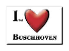 DEUTSCHLAND SOUVENIR - NORDRHEIN WESTFALEN MAGNET BUSCHHOVEN (RHEIN SIEG KREIS)