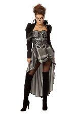 VAMPIRE costume Costumes de femmes femmes carnaval robe veste noire argent