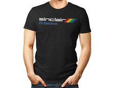 Ordenador Zx Spectrum Sinclair-Unisex T Shirt años 80 de videojuegos Retro Vintage para hombres y mujeres