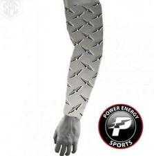 "Baseball Sports Dri-Fit Compression Arm Sleeve ""Man of Steel"" Diamond Plate"