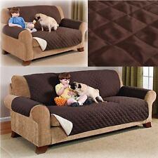 Brown Sofa Protector Slip Throw Cover Dog Cat Pet Water Resistant Bed Settee Mat