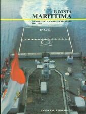 RIVISTA MARITTIMA 2 / FEBBRAIO 1988  AA.VV. RIVISTA MARITTIMA 1988
