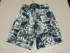 NWT Gymboree Boy Swimsuit Tropical Trunk Shorts UPF 50+ 7/8