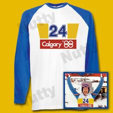 Eddie The Eagle Long sleeved T shirt Eddie Edwards 80's tee Fancy Dress S-2xl