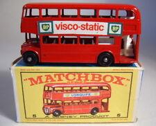 "MATCHBOX RW 05d London Bus ""VISCO-STATIC"" in box"