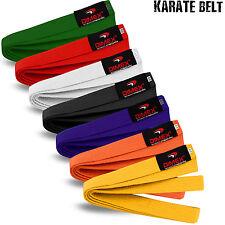 Karate / Judo / Taekwondo Plain Coloured Cotton Belt Martial Arts Dimex Sports