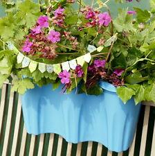 Design Blumenbrücke Geländerkasten Balkonkasten Pflanzkübel Topf zum Einhängen