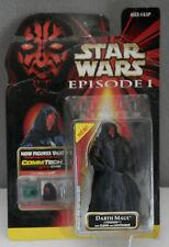 Hasbro Star Wars Episode 1 Figurines w/ CommTech Chip - Darth Maul (Tatooine)