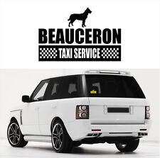 AYC Auto Aufkleber BEAUCERON Taxi Service Hunde Hundeaufkleber Siviwonder