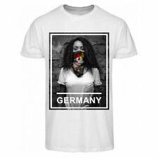 zoonamo Camiseta Alemania Urban Colección Nuevo Blanco 100% Algodón
