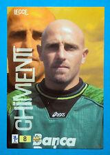 Cards-Figurina/Stickers TOP CALCIO 2000 MC - n. 8 - CHIMENTI - LECCE
