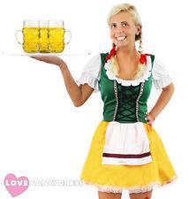 La Birra Bavarese Ragazza Costume Oktoberfest Costume Da Donna Tedesco MAID Wench