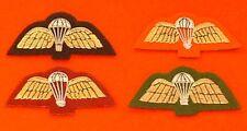 PARA Mess Dresss Badge PARA Wings Mess Dress Badge Black Red Maroon Yellow Wings