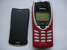 NOKIA 8210 TELEFONO CELLULARE, NUOVI rosso fascia, completamente testato No sim lock ULTIMA VERSIONE
