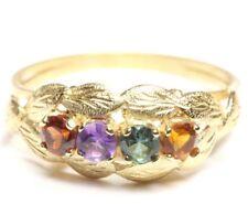 ♦ 14 kt 14kt 585 Damen Goldring Spinell Gelb Gold Ring Spinellring Farbsteine ♦