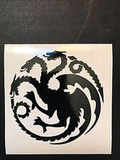 Games Of Thrones (GOT) House Targaryen Crest Vinyl Decal Sticker Window Yeti