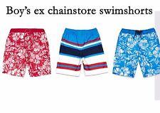 Boys Swim Shorts Ex Chainstore All Sizes 100% polyester