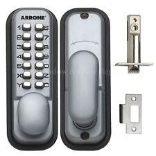 HOPPE Push Button Mechanical Digital Combinazione Codice Lucchetto Porta accesso KEYLESS