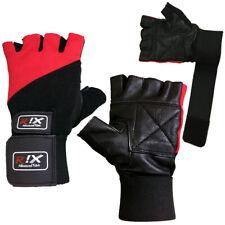 Rix Power Bodybuilding Gym Training Workout Wrist Strap Weight Lifting Gloves