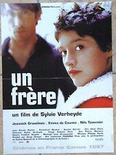 AFFICHE - UN FRERE EMMA DE CAUNES SYLVIE VERHEYDE