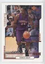 2000-01 Upper Deck MVP #166 Charles Oakley Toronto Raptors Basketball Card