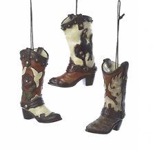 Cowboy Boots Ornaments