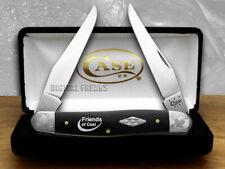 CASE XX Friends of Coal Black Delrin Scrolled Bolster 1/500 Muskrat Pocket Knife