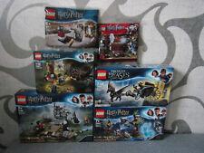 Lego Harry Potter/Fantastic Beasts Accumulating Set's for Selection - Nip