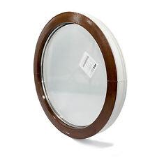 Finestre in PVC cerchio/oblo VEKA  FISSO - colore esterno: QUERCIA DORATA / NOCE