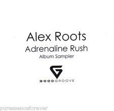 ALEX ROOTS - Adrenaline Rush Sampler EP (UK 4 Tk DJ CD Single)